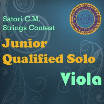 Viola Junior Qualified Solo