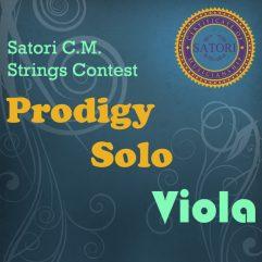 Viola Prodigy Solo