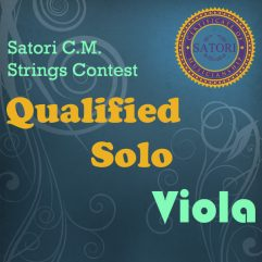 Viola Qualified Solo