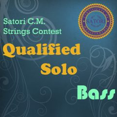 Bass Junior Qualified Solo
