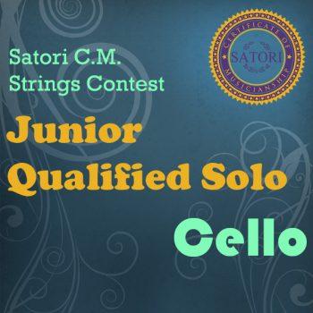 Cello Junior Qualified Solo