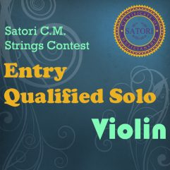 Violin Entry Qualified Solo