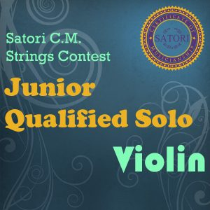 Violin Junior Qualified Solo