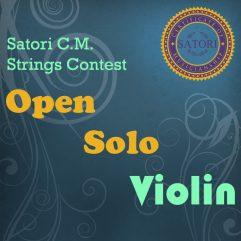 Violin Open Solo