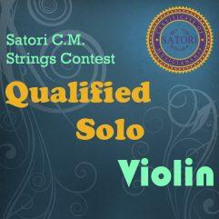 Violin Qualified Solo